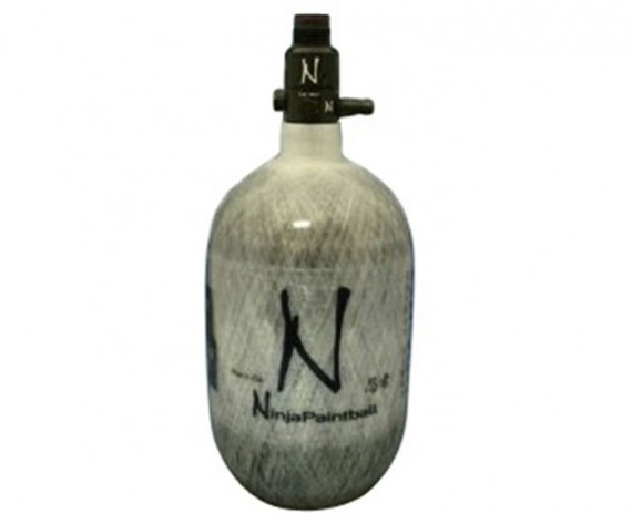 Ninja Grey Ghost Carbon Fiber Air Tank 50 / 68 / 90 ci 4500