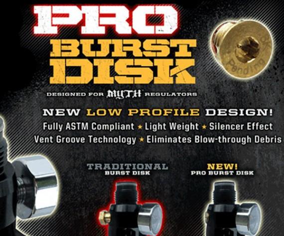 Guerrilla Air Pro Burst Disk