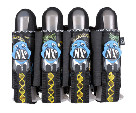 NXe Elevation Series 4+3+2 Paintball Pod Harness 2010
