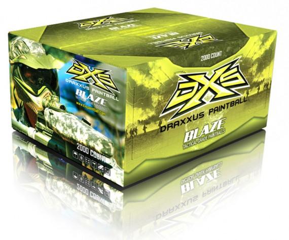 DXS Blaze Paintballs - 2000 Rounds