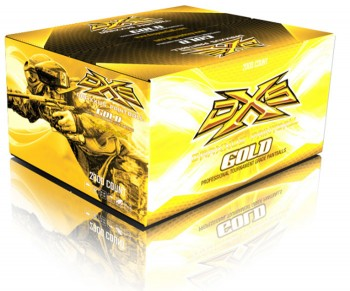 DXS Gold Paintballs - 2000 Rounds