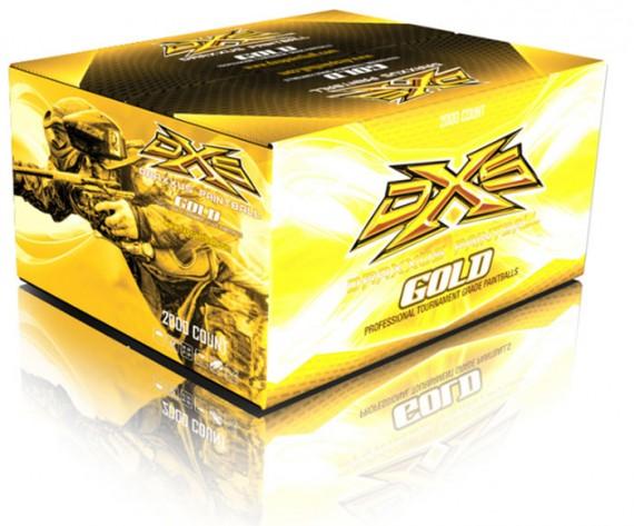 DXS Gold Paintballs - 2000 Rounds