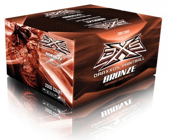 DXS Bronze Paintballs - 2000 Rounds