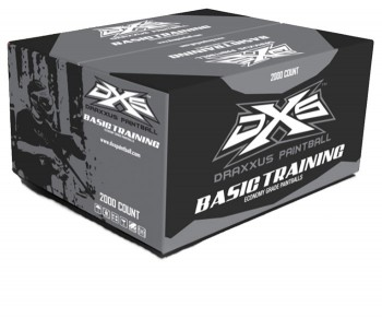 DXS Basic Training Paintballs - 2000 Rounds