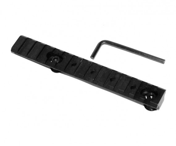 Trinity 6 inch Weaver Rail with Hardware