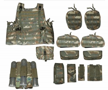 Delta Tactical Vest 12 Piece Gear Set Camo