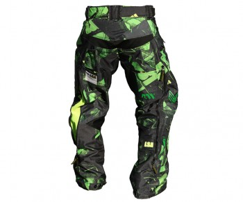 Laysick 411X Pants Dayglow Green