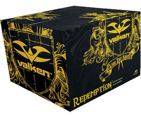 Valken Redemption Paintballs - 2000 rounds