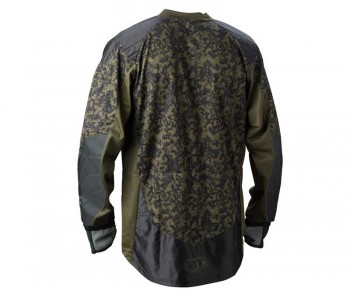 BT Combat ZE Paintball Jersey - Woodland Digi Camo 2011