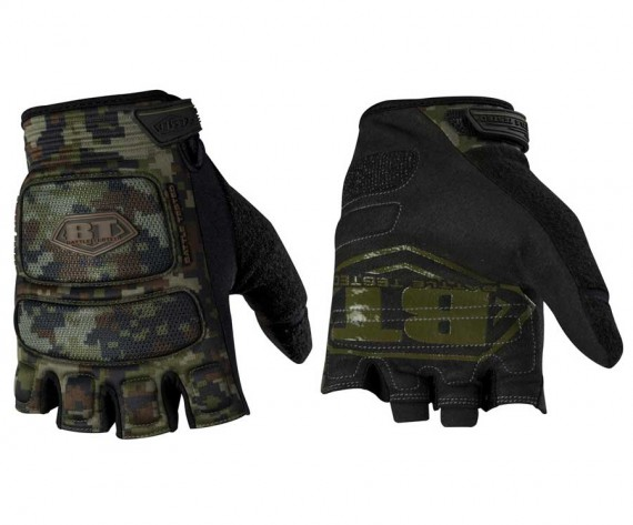 BT Combat ZE Paintball Gloves - Woodland Digi