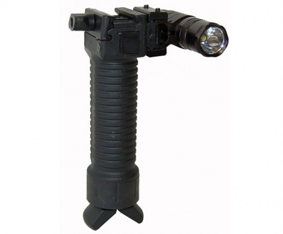 Trinity Vertical Grip w/Bipod and Flashlight