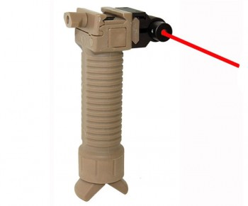 Trinity Vertical Grip w/Bipod and Laser Sight