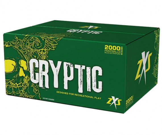 Zap Cryptic Paintballs - 2000 Rounds