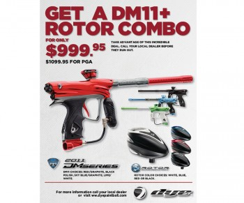 Dye DM11 Special - Free Rotor