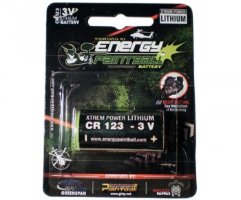 Energy Paintball CR 123 Lithium Sight Battery