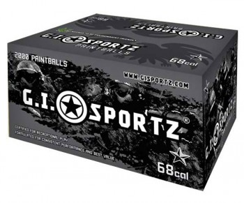GI Milsim 1 Star Paintballs 2000 Rounds - Yellow Fill