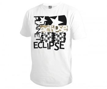 Planet Eclipse Grunge T-Shirt - White