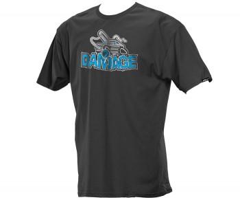 Dye Damage Shirt - Charcoal