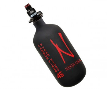 Ninja Dura Carbon Fiber Compressed Air Tank - Black - 45/77ci