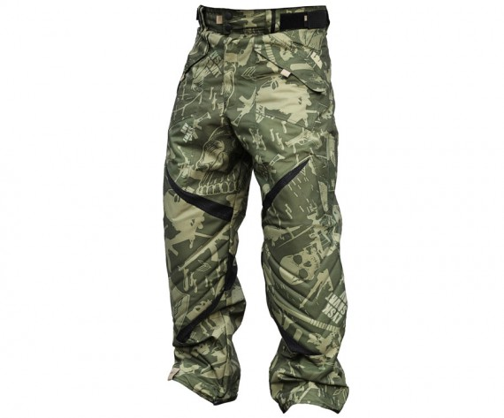 Laysick 411X Lite Pants Militia Camo