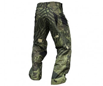 Laysick 411X Lite Pants Barrage Camo