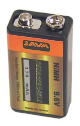Kingman Spyder 9.6 Volt Rechargeable Battery