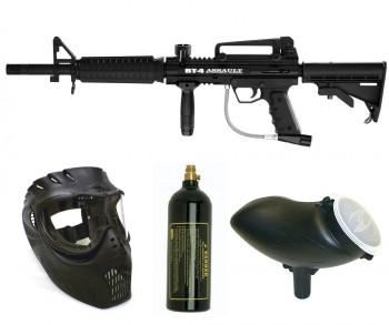BT BT-4 Assault Paintball Gun Package