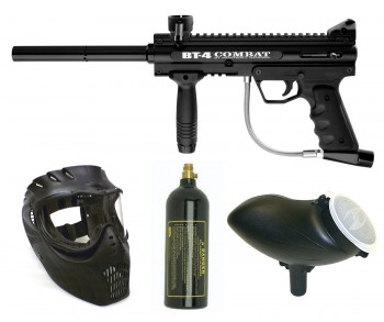 BT BT-4 Combat Paintball Gun Package - Black