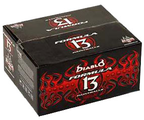 Diablo Formula 13 Paintballs - Mid Level