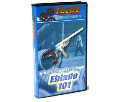 TechT EBlade 101 Paintball DVD