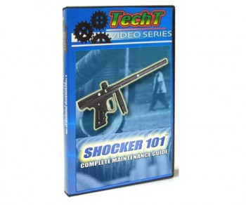 TechT Shocker 101 Paintball DVD
