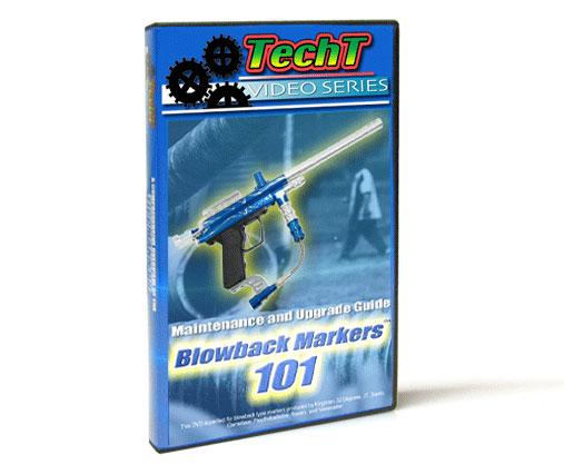 TechT Spyder BlowBacks 101 Paintball DVD