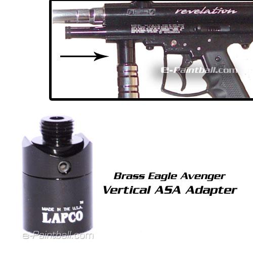LAPCO Avenger Vertical ASA Adapter