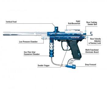 32 Degrees Icon E Paintball Gun
