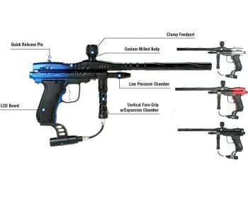 Diablo Mongoose II Reincarnation Paintball Gun