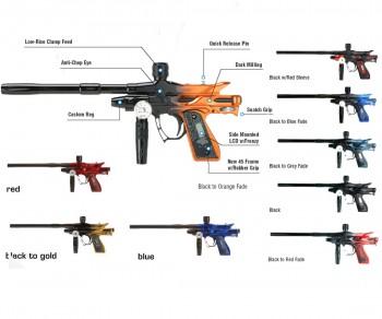 Bob Long Gen 3 Dark Intimidator Paintball Gun