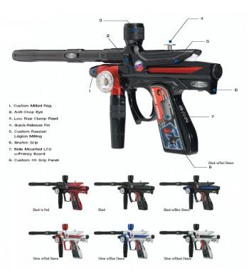 Bob Long Gen 3 Russian Legion Intimidator Paintball Gun