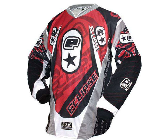 Eclipse 07 Distortion Paintball Jersey