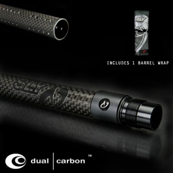SLY Dual Carbon Barrel Front - Black w/ Free Bag