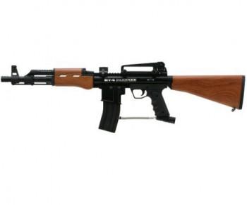 BT-4 Banshee Paintball Gun - Wood Grain