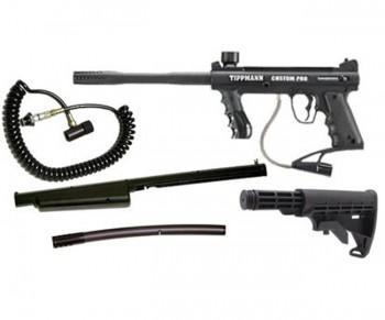 Tippmann Custom PRO ACT Sniper Paintball Gun Package