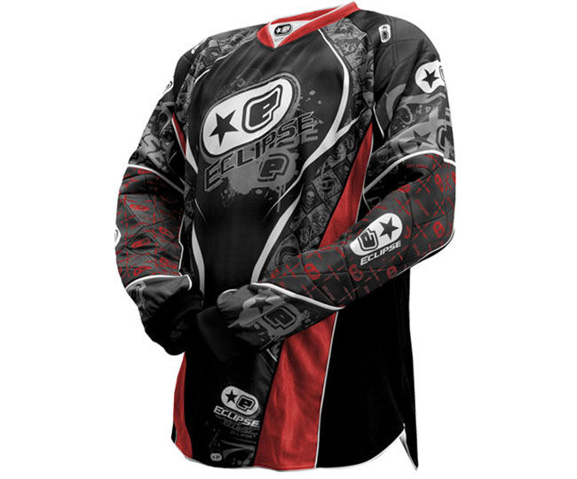 Eclipse Distortion Men's Paintball Jersey 08