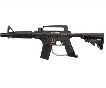 Tippmann US ARMY Alpha Black Paintball Gun - SALE