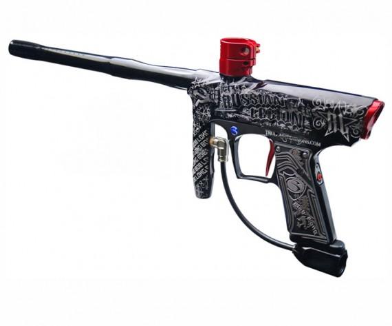 Russian Legion Laser Engraved Paintball Gun