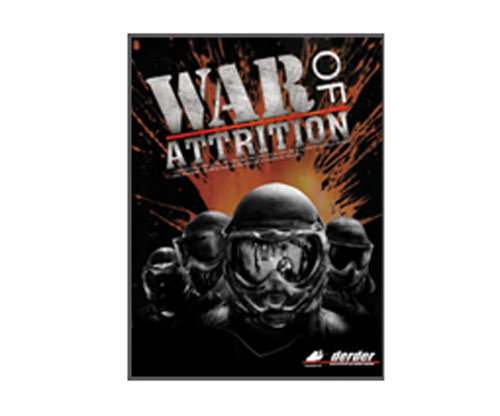 DerDer Productions War of Attrition Paintball DVD