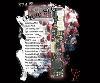 The Seventh Element Proto SLG Board
