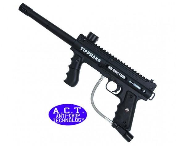 Tippmann 98 Custom Platinum ACT Basic Paintball Gun