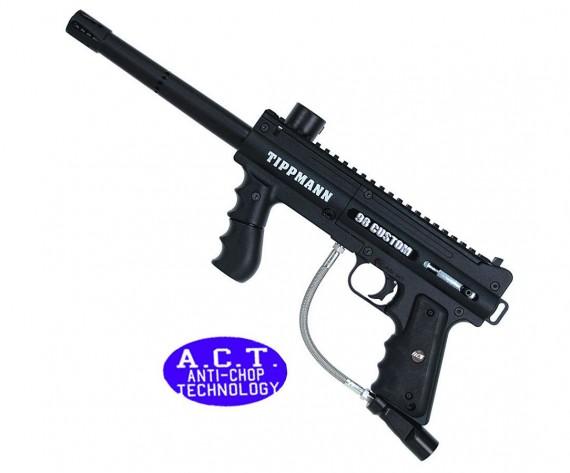 Tippmann 98 Custom Platinum ACT E-Grip Paintball Gun