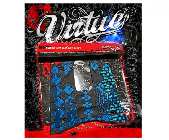 Virtue .45 Grips Argyle Bullets SoftTact
