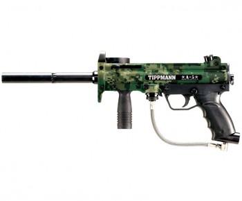 Tippmann A5 Camo Paintball Gun